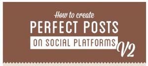 Tipps zum perfekten Social Media Beitrag