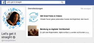 Facebook Dienstleistungen erstellen