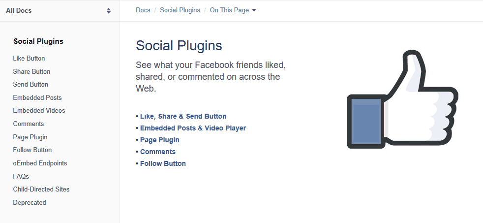 Facebook Like-Button Integration unzulässig auf Webseiten