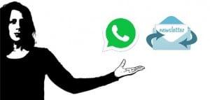 Newsletter per Whatsapp