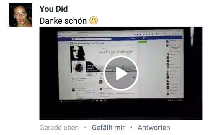 Facebook Beitrag mit Video kommentieren in 10 einfachen Schritten