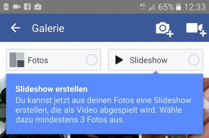 Facebook Slideshow Vorschau Small