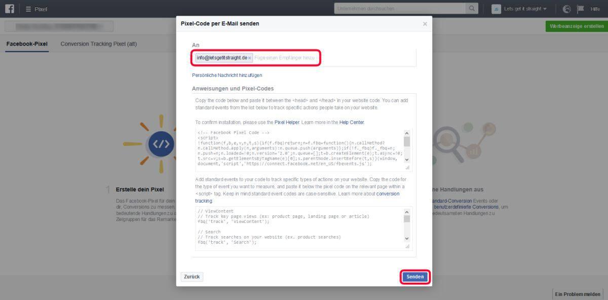 facebook-pixel-erstellen-4-schritt-email-versand
