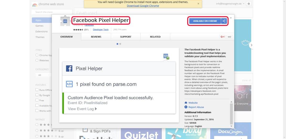 facebook-pixel-erstellen-8-schritt-pixelcode-chrome-pixel-helper-installieren