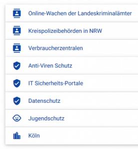 Angebot von Susii - kostenloses Internet-Sicherheitsportal