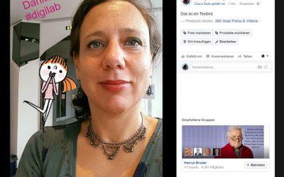 Facebook – Bilder hochladen und bearbeiten