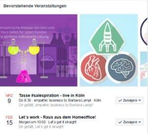 Facebook Veranstaltung hinzufuegen Beitragstitel