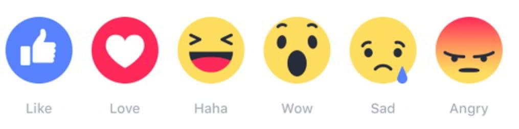 Facebook Reaktionen Reichweite