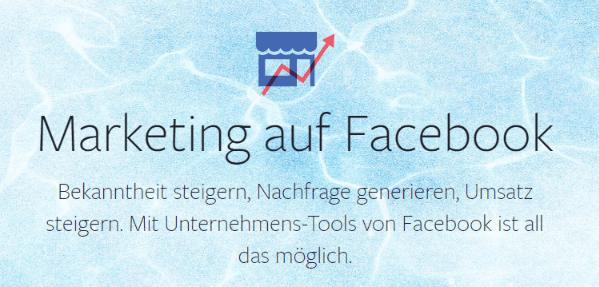 Facebook Marketing Werbeanzeigen Beitrag