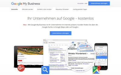 SEO – lokale Suche optimieren mit Google My Business