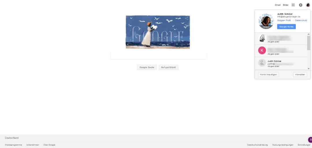 Google Konto erstellen Google aufrufen