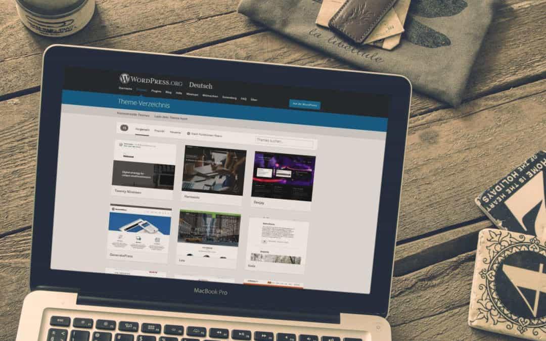 Kostenlose WordPress Themes finden – diese 6 Punkte sind wichtig