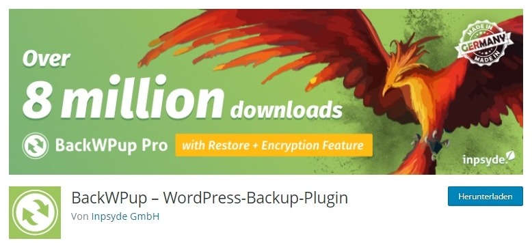 WordPress Plugins BackWPup