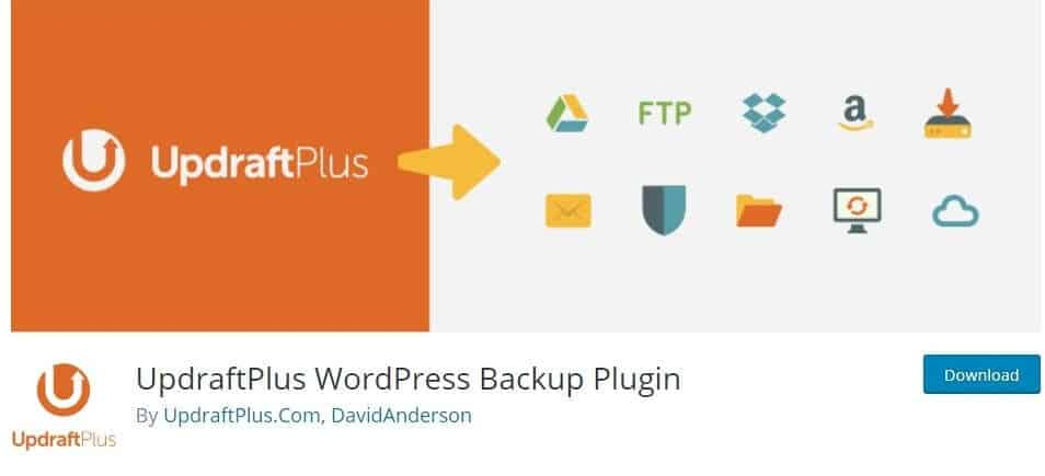 WordPress Plugins UpdraftPlus