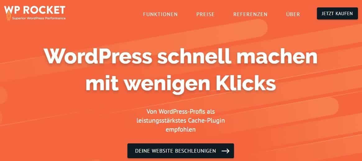 WordPress Plugins WP Rocket