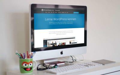 WordPress Webseite erstellen für Anfänger – so geht´s!