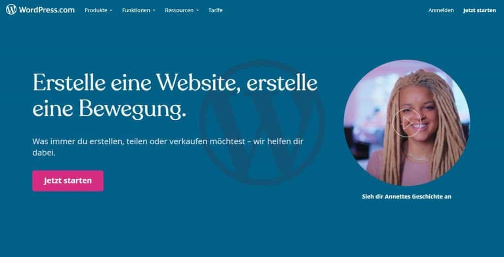 Was ist WordPress.com