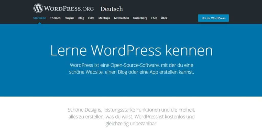 Was ist WordPress.org