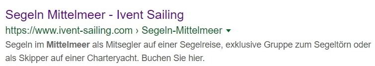 Meta Description Handlungsaufforderung