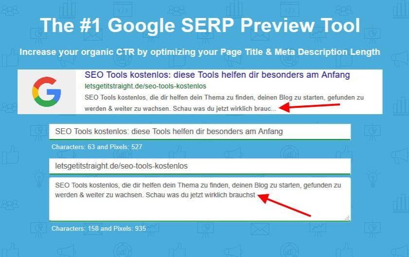 Google SERP Tool