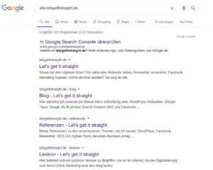 Google Index überprüfen