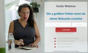 Webinar Anmeldung WordPress