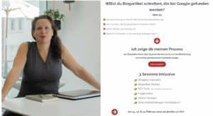 Blogartikel schreiben Kurs